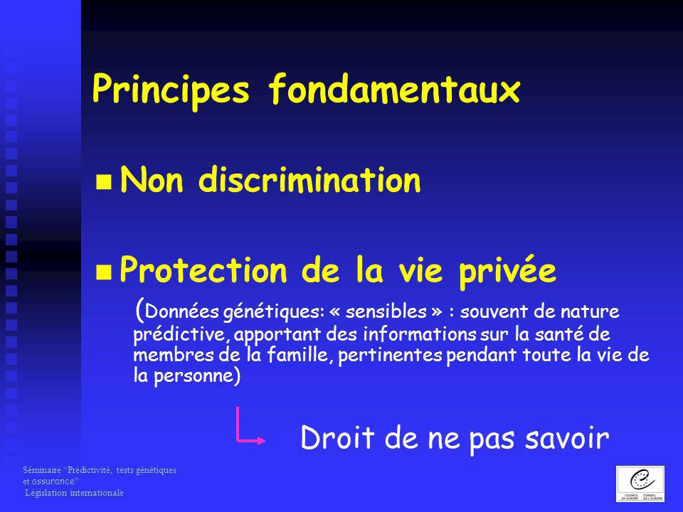 Principes fondamentaux