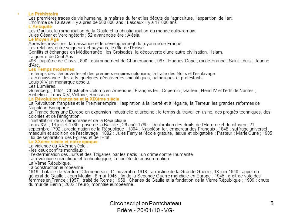 Circonscription Pontchateau Brière - 20/01/10 - VG-