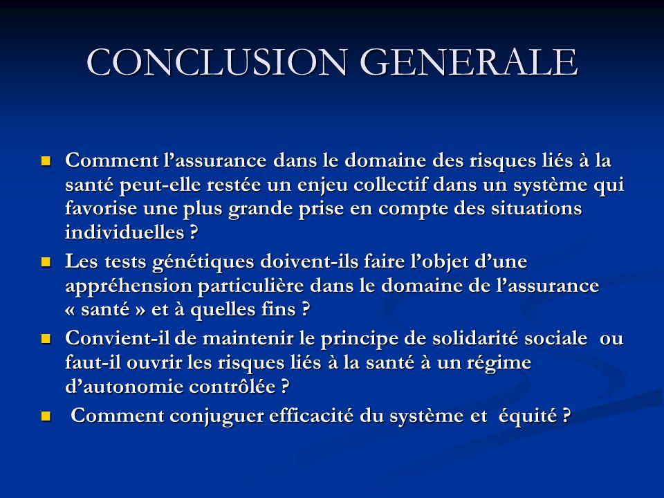 CONCLUSION GENERALE