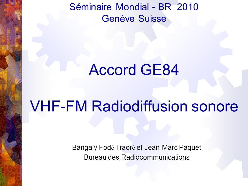 VHF-FM Radiodiffusion sonore