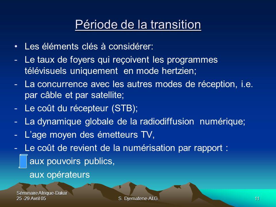 Période de la transition
