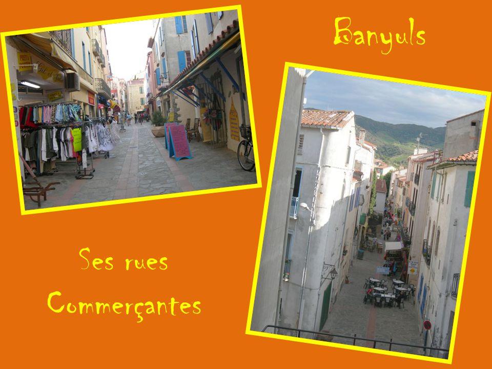 Banyuls Ses rues Commerçantes