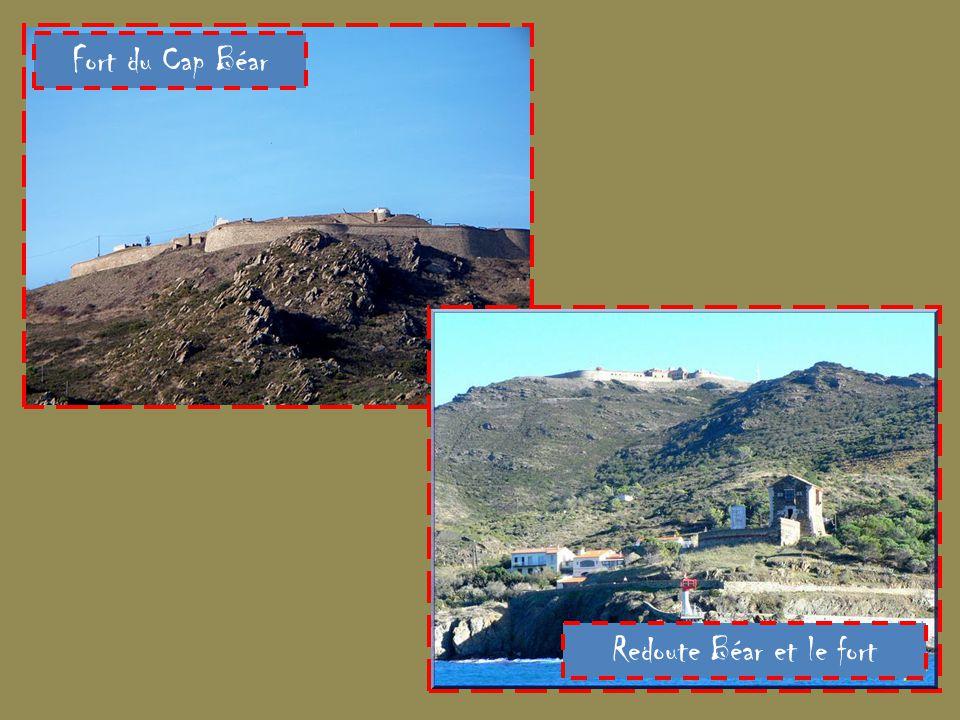 Fort du Cap Béar Redoute Béar et le fort