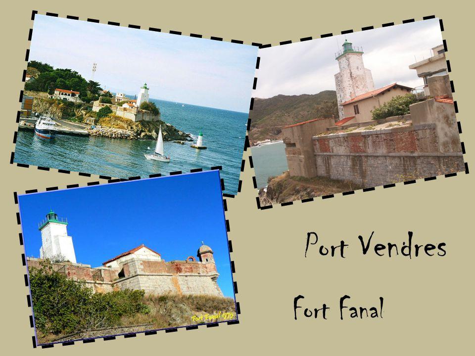 Port Vendres Fort Fanal