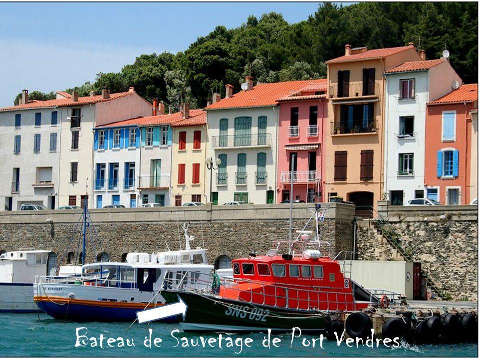 Bateau de Sauvetage de Port Vendres
