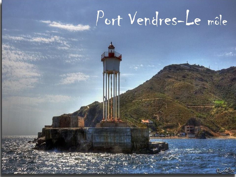 Port Vendres-Le môle