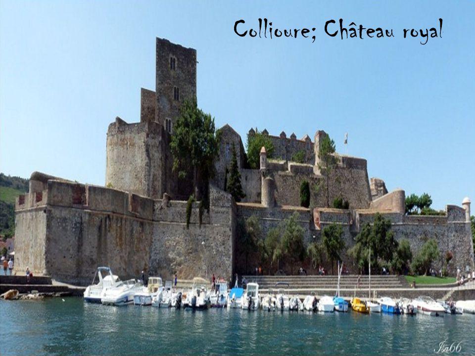 Collioure; Château royal