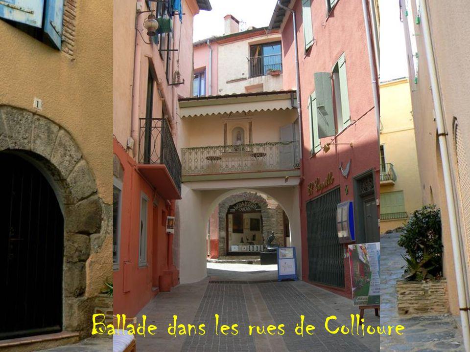 Ballade dans les rues de Collioure