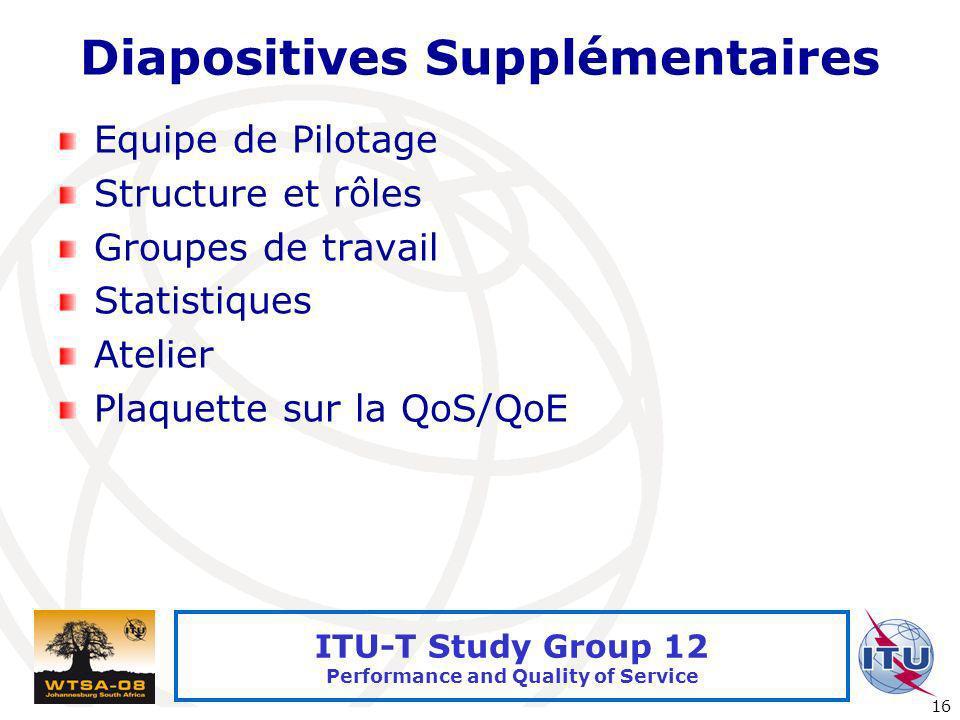 Diapositives Supplémentaires