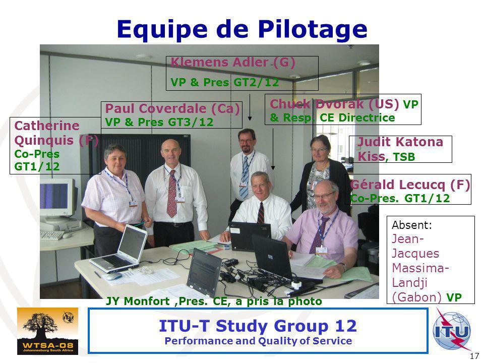 Equipe de Pilotage Klemens Adler (G)