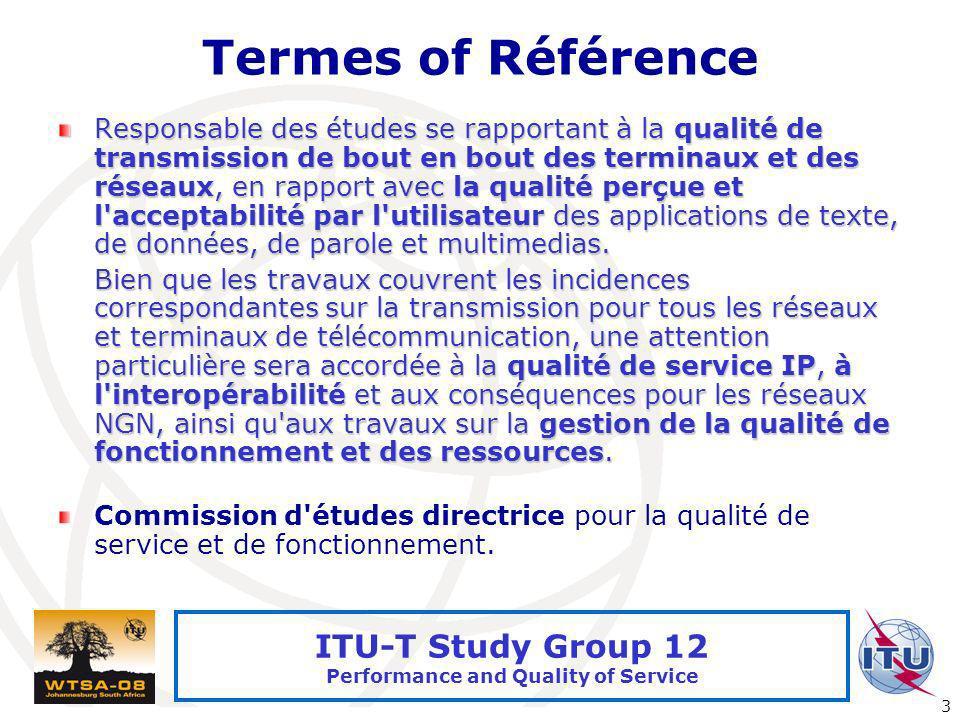 Termes of Référence