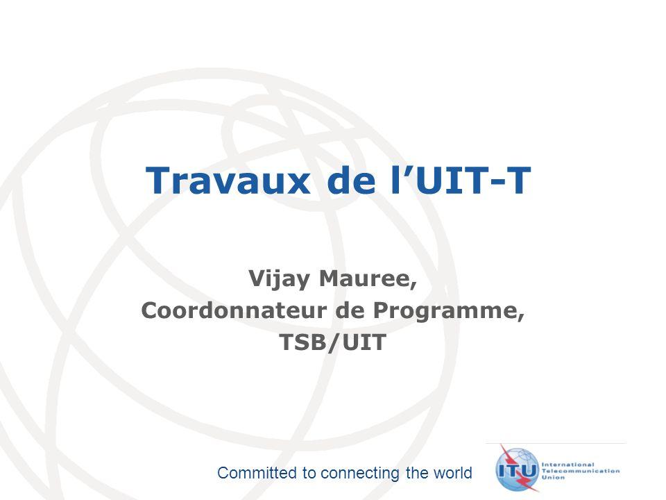Vijay Mauree, Coordonnateur de Programme, TSB/UIT