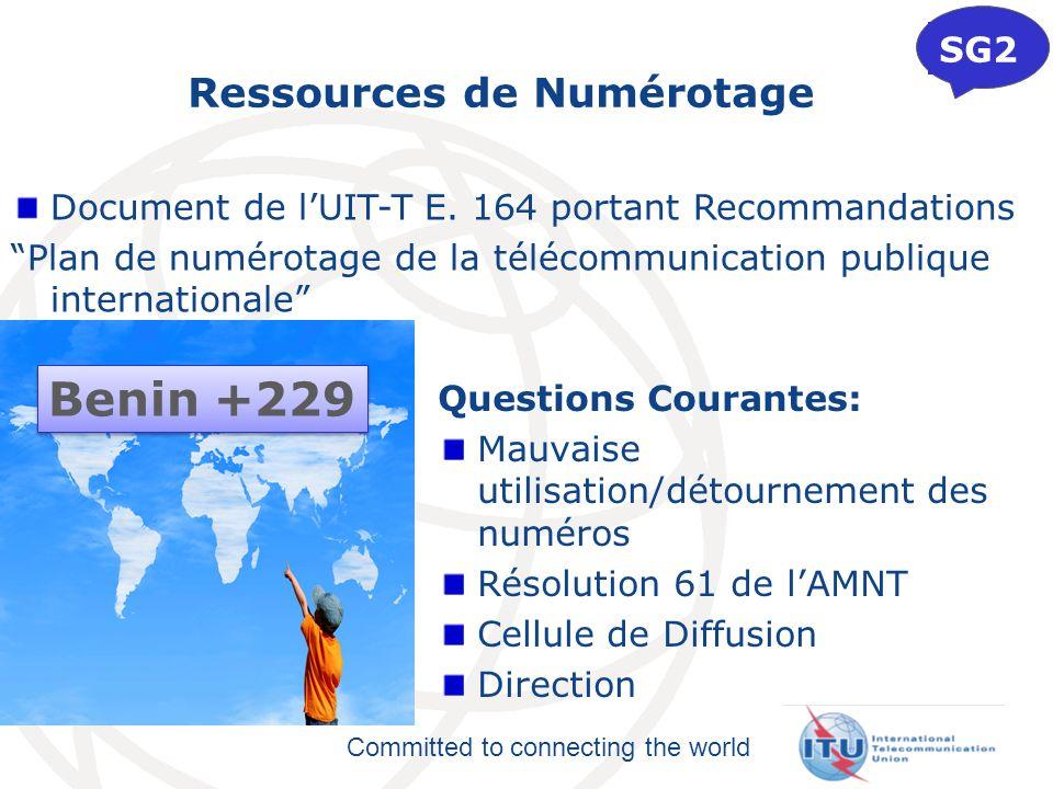 Ressources de Numérotage