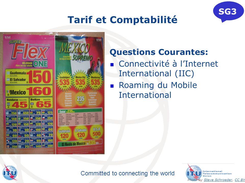 Tarif et Comptabilité SG3 Questions Courantes: