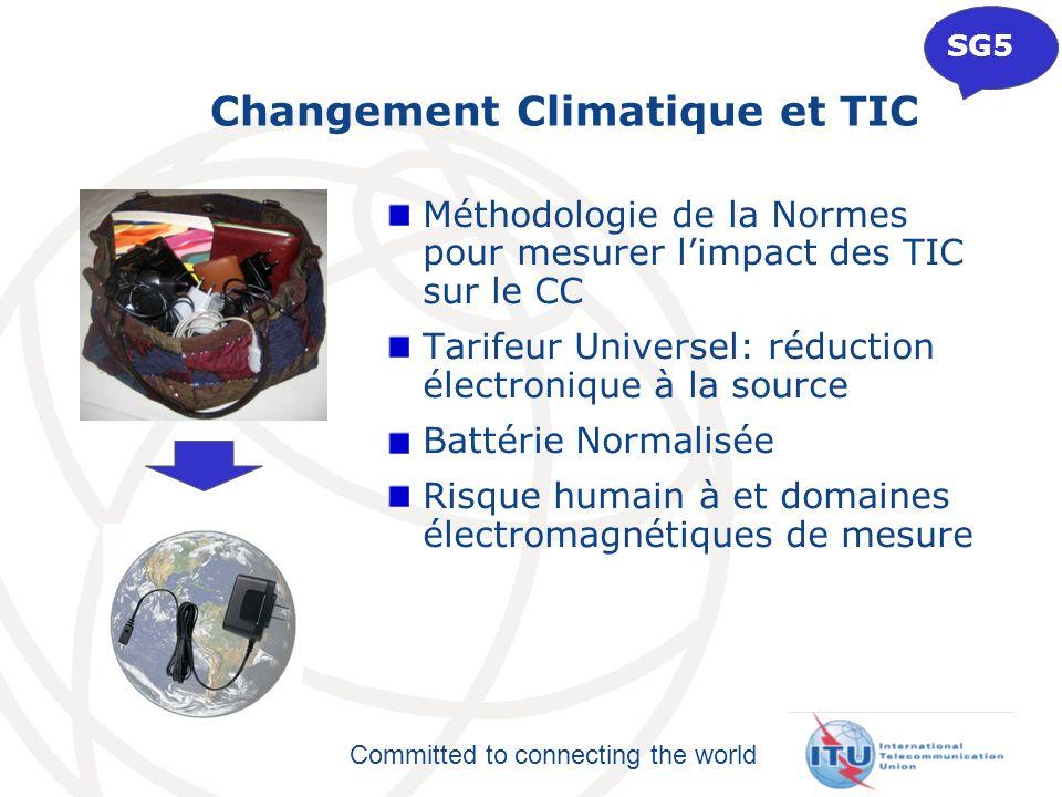Changement Climatique et TIC