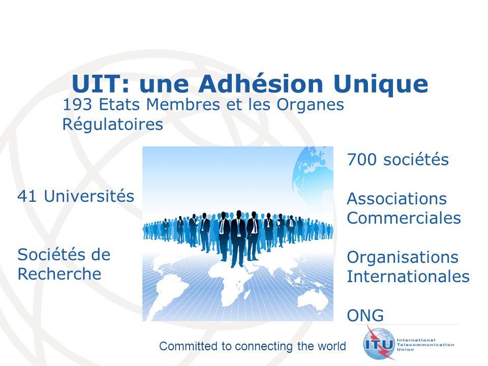 UIT: une Adhésion Unique