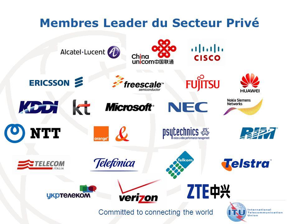 Membres Leader du Secteur Privé