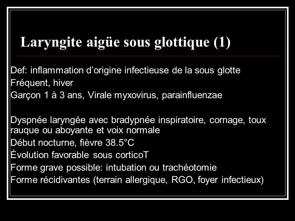 Laryngite aigüe sous glottique (1)