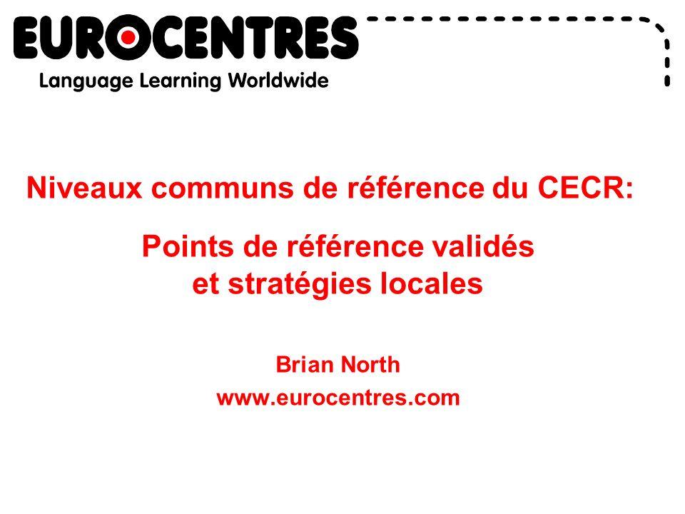 Niveaux communs de référence du CECR: