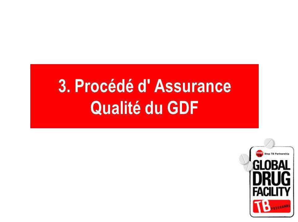 3. Procédé d Assurance Qualité du GDF