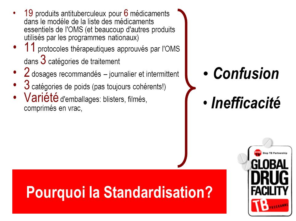 Pourquoi la Standardisation