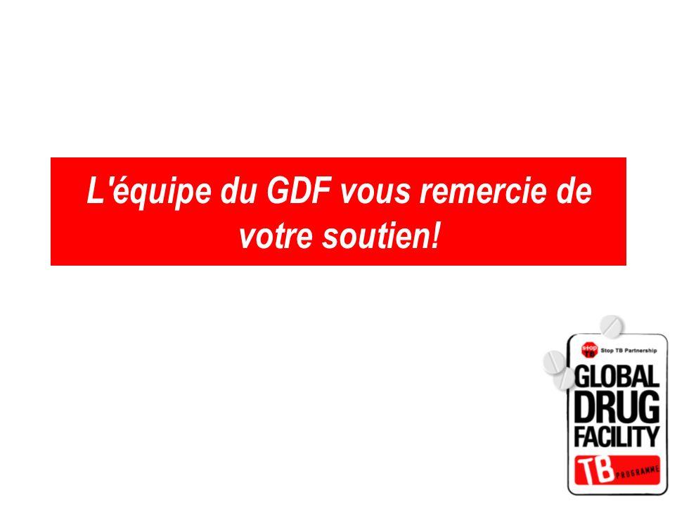 L équipe du GDF vous remercie de votre soutien!