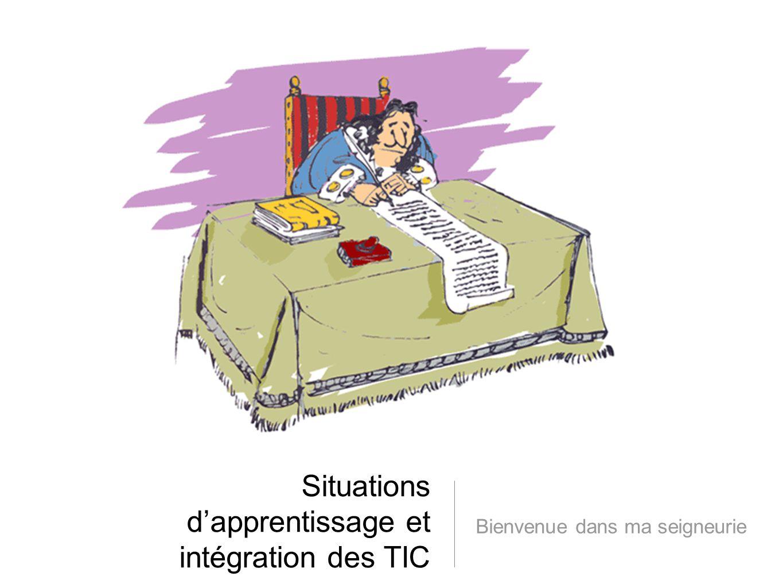 Situations d'apprentissage et intégration des TIC
