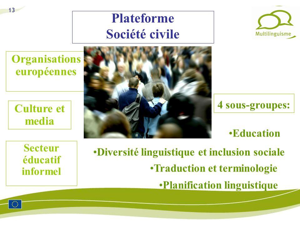 Plateforme Société civile