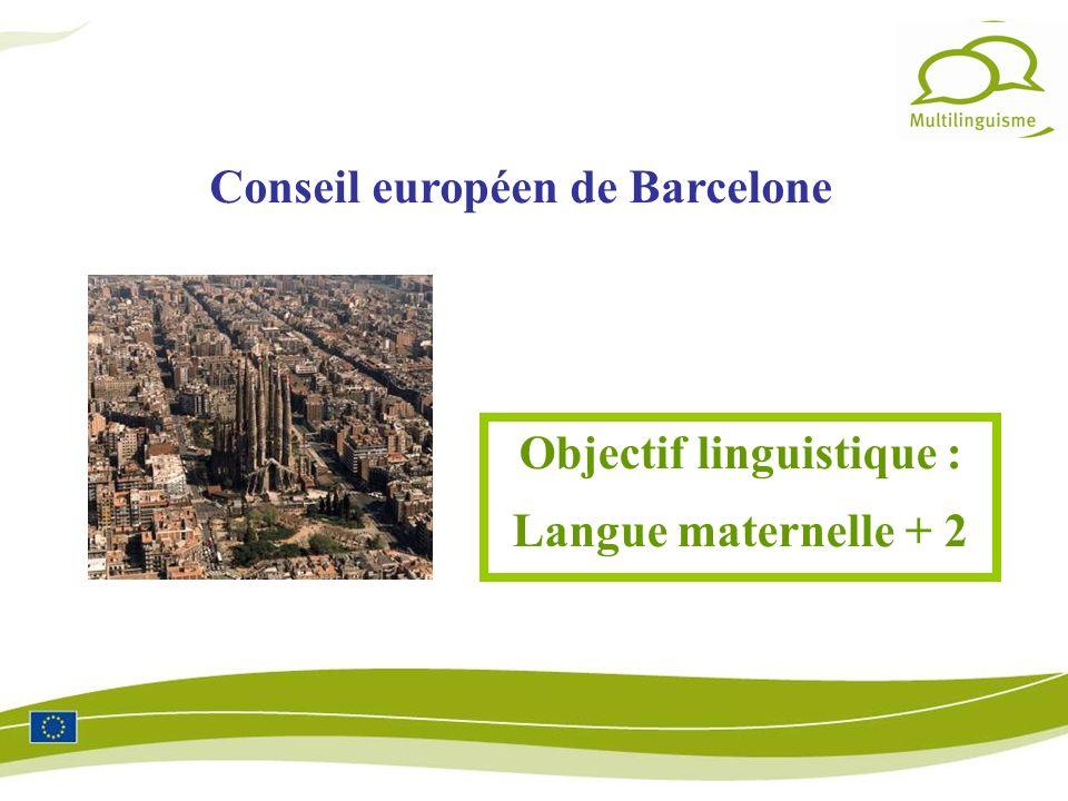 Objectif linguistique :