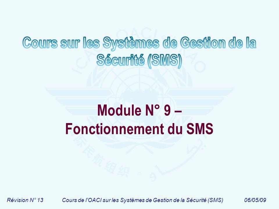 Module N° 9 – Fonctionnement du SMS
