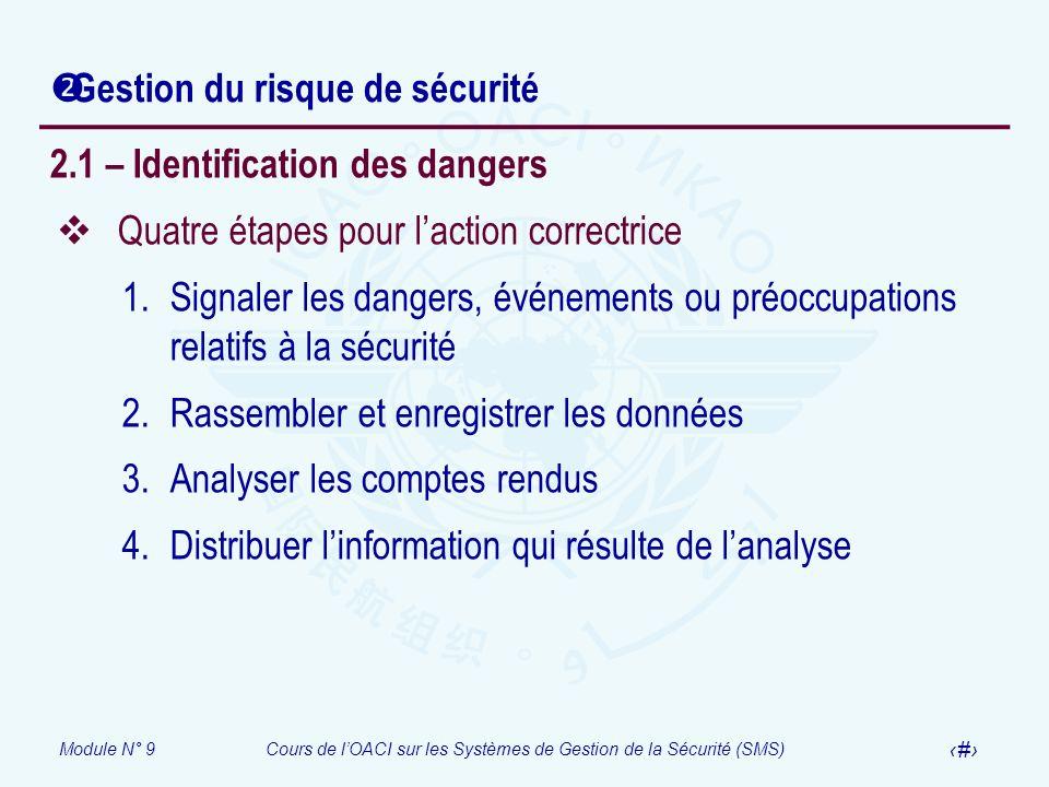 Gestion du risque de sécurité