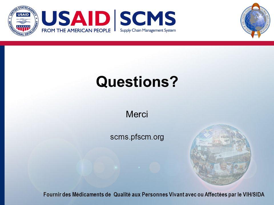 Questions Merci scms.pfscm.org