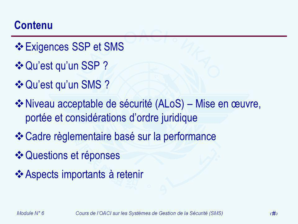 Contenu Exigences SSP et SMS. Qu'est qu'un SSP Qu'est qu'un SMS
