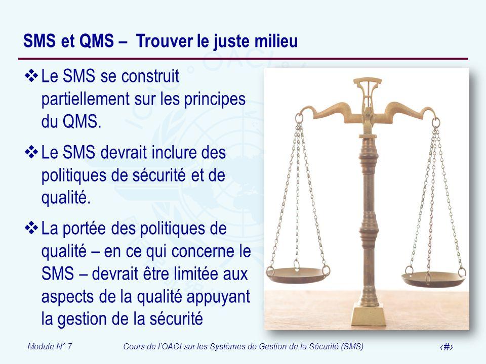 SMS et QMS – Trouver le juste milieu