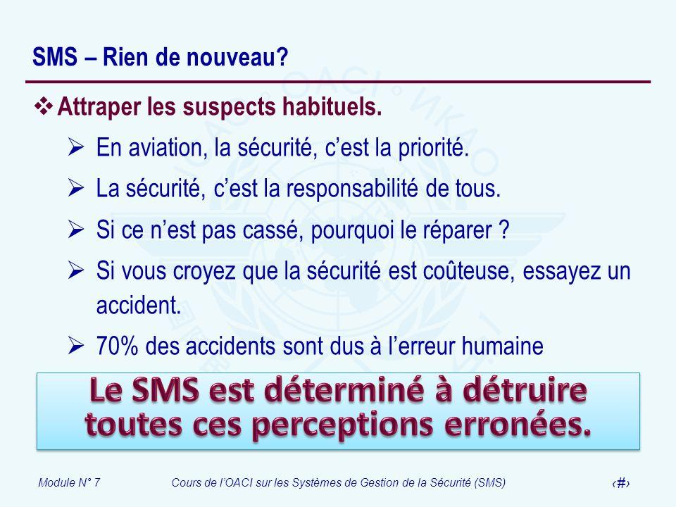 Le SMS est déterminé à détruire toutes ces perceptions erronées.
