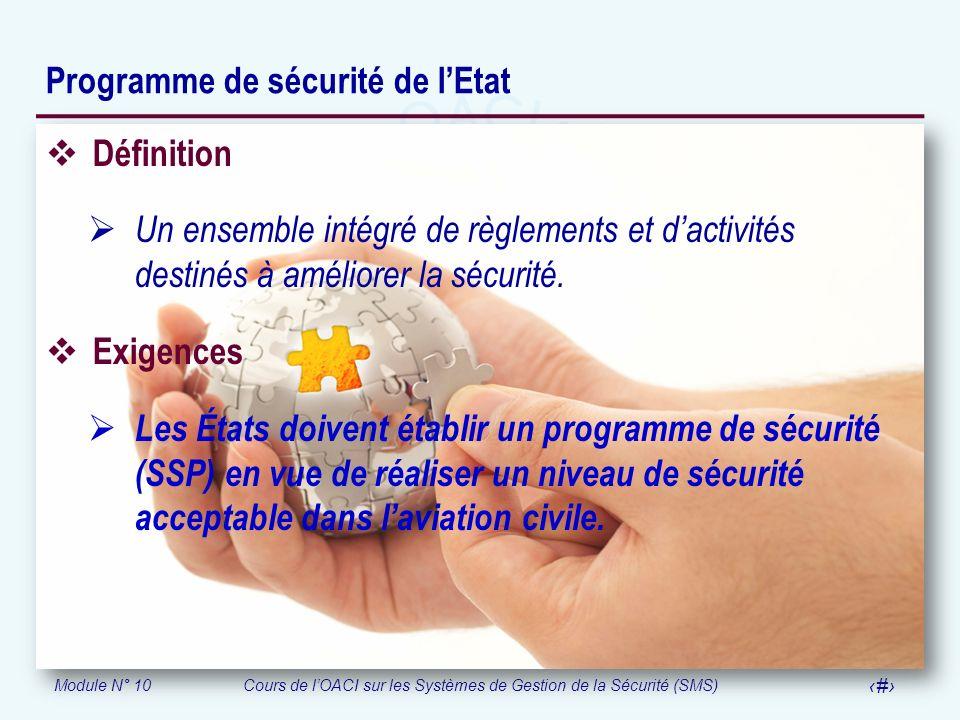 Programme de sécurité de l'Etat