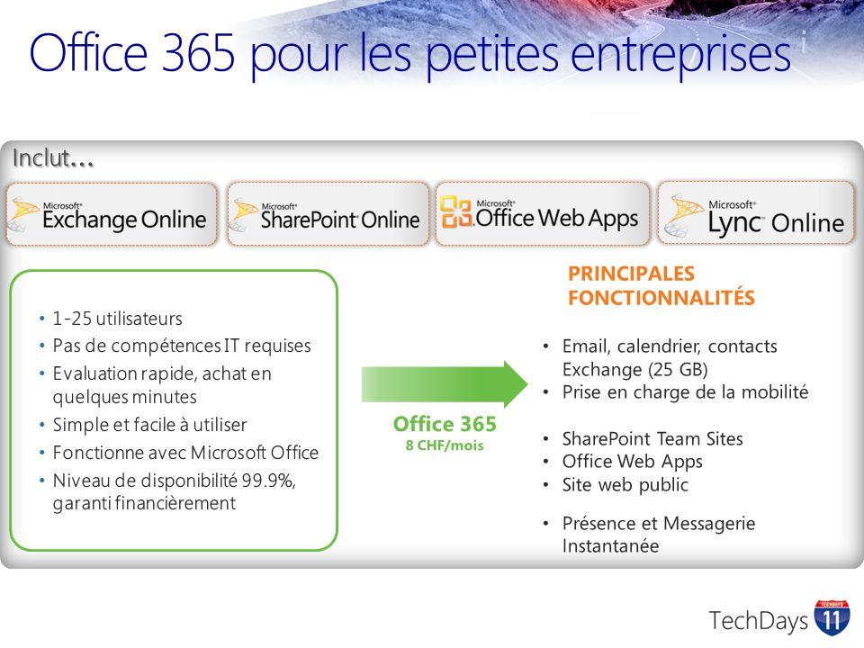 Office 365 pour les petites entreprises