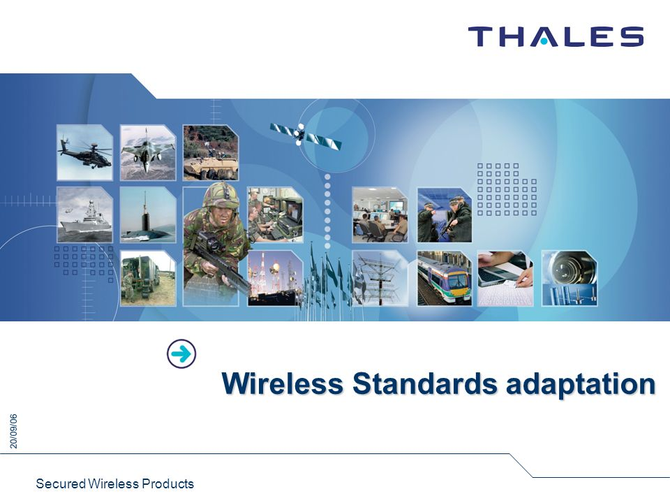 Wireless Standards adaptation
