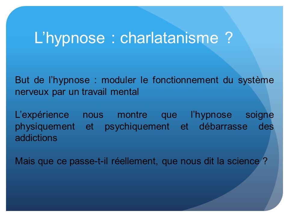 L'hypnose : charlatanisme