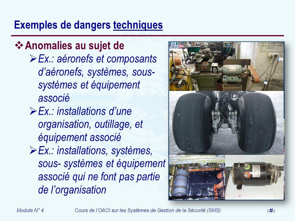Exemples de dangers techniques