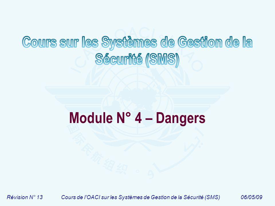 Module N° 4 – Dangers