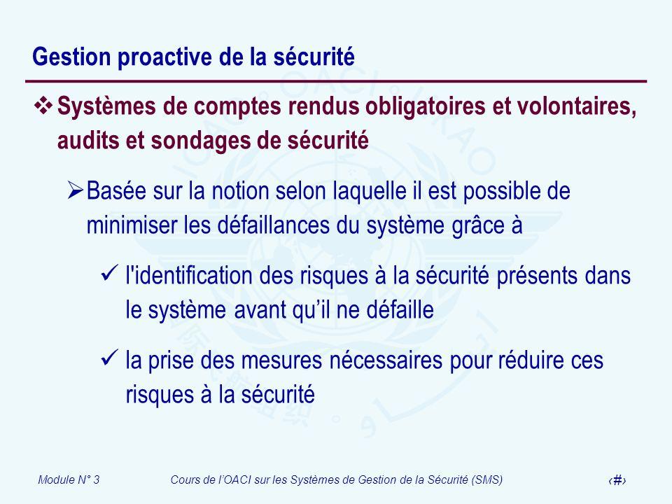 Gestion proactive de la sécurité