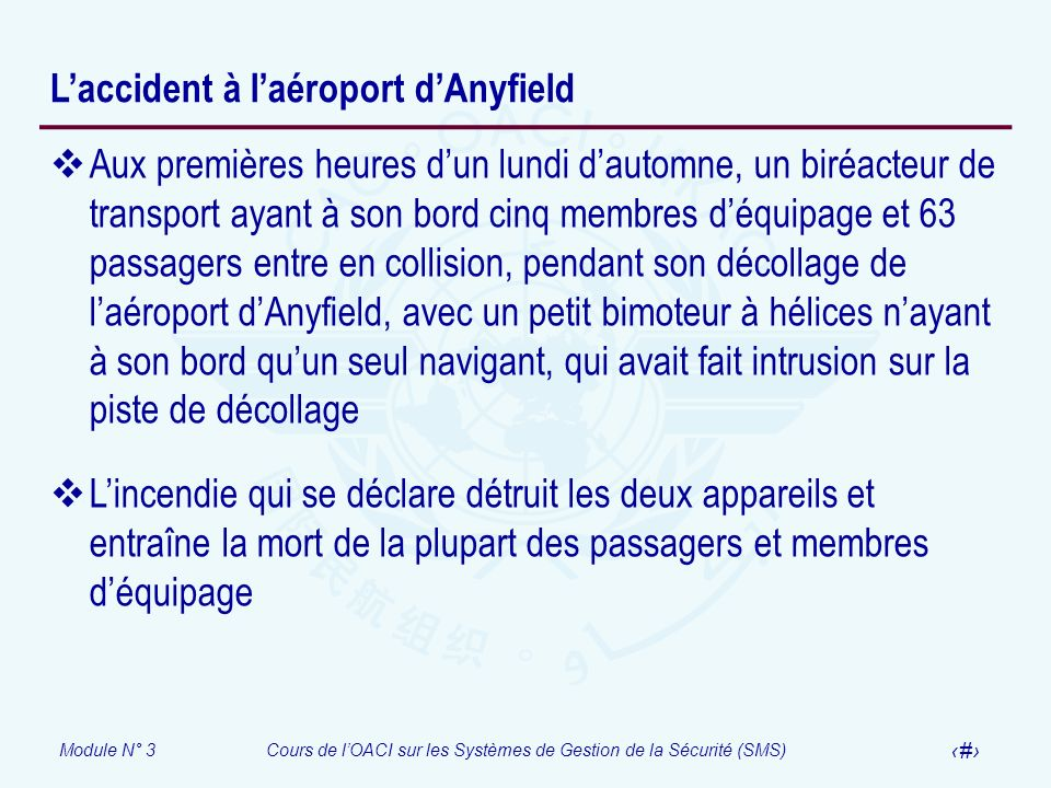 L'accident à l'aéroport d'Anyfield