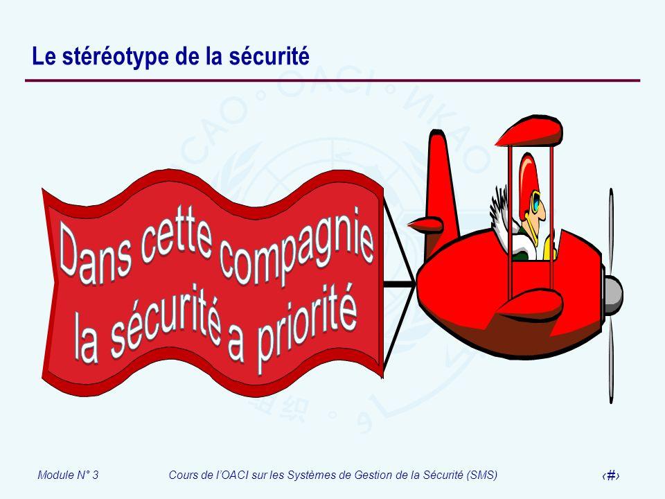 Le stéréotype de la sécurité