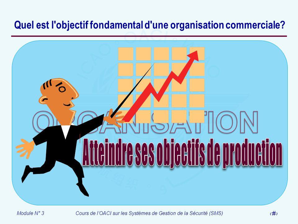 Quel est l objectif fondamental d une organisation commerciale