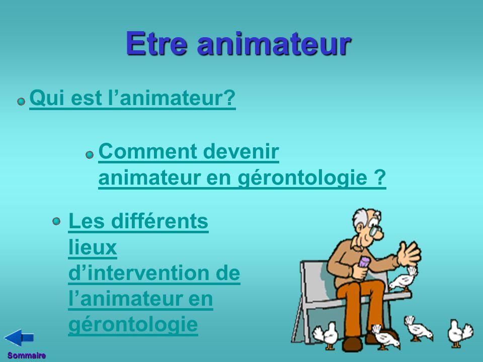 Etre animateur Qui est l'animateur Comment devenir
