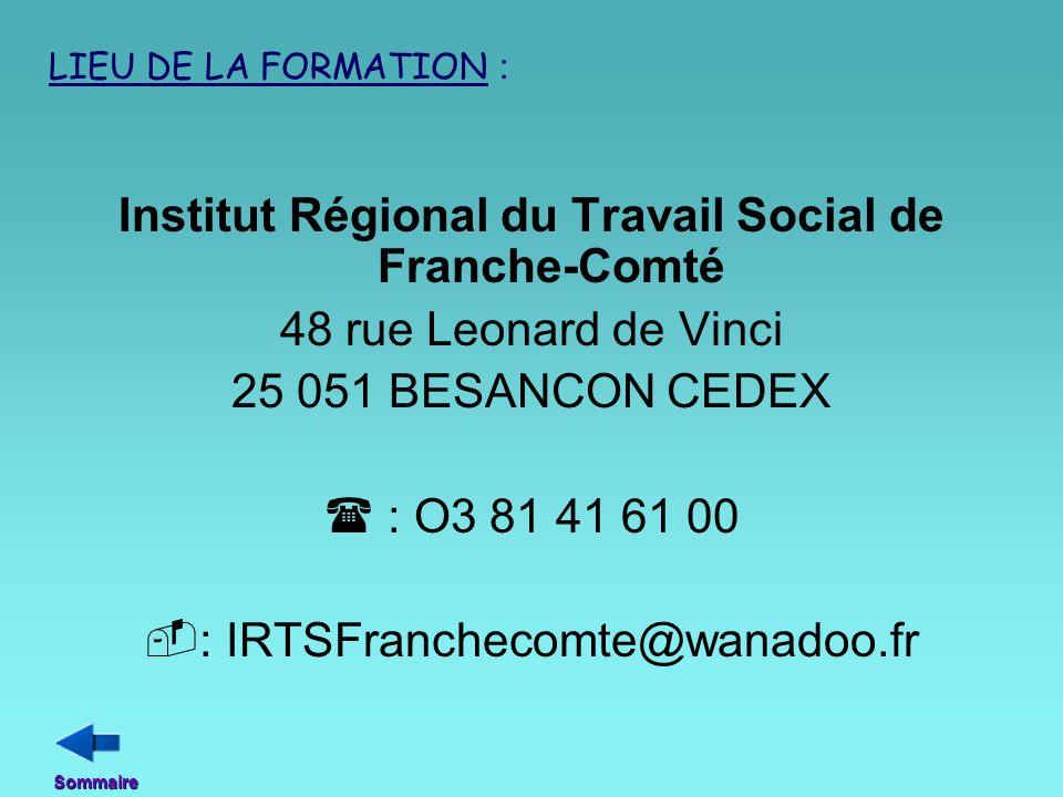 Institut Régional du Travail Social de Franche-Comté