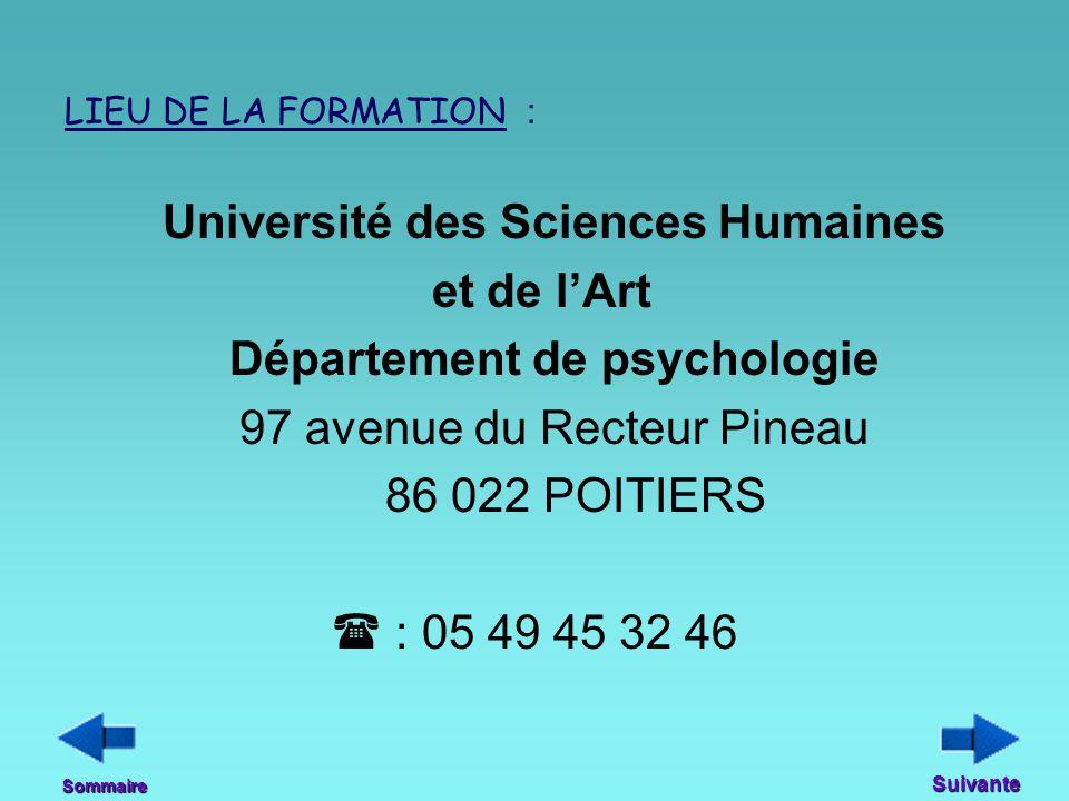 Département de psychologie