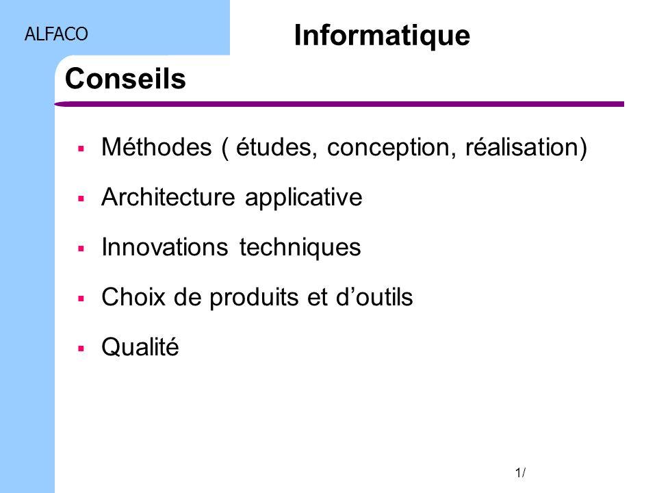 Informatique Conseils Méthodes ( études, conception, réalisation)