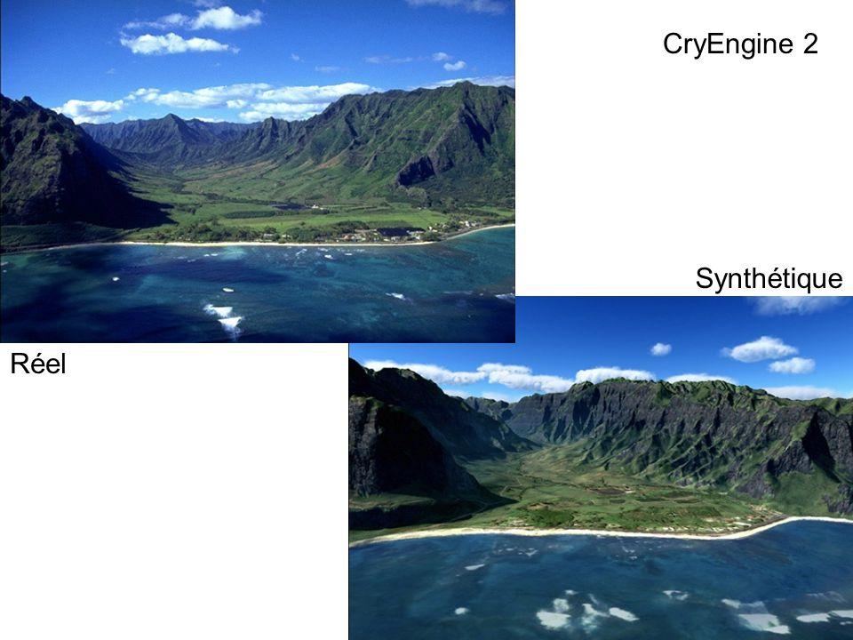 CryEngine 2 Synthétique Réel